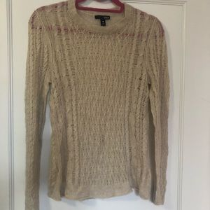 Aqua light cashmere sweater